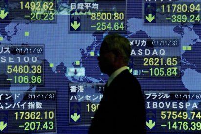 El Nikkei sube 116,81 puntos, el 1,37 por ciento, hasta 8.631,28 puntos