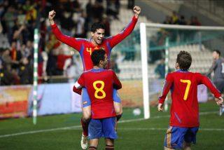 3-0. La 'Rojita' manda con Thiago y Muniaín al frente