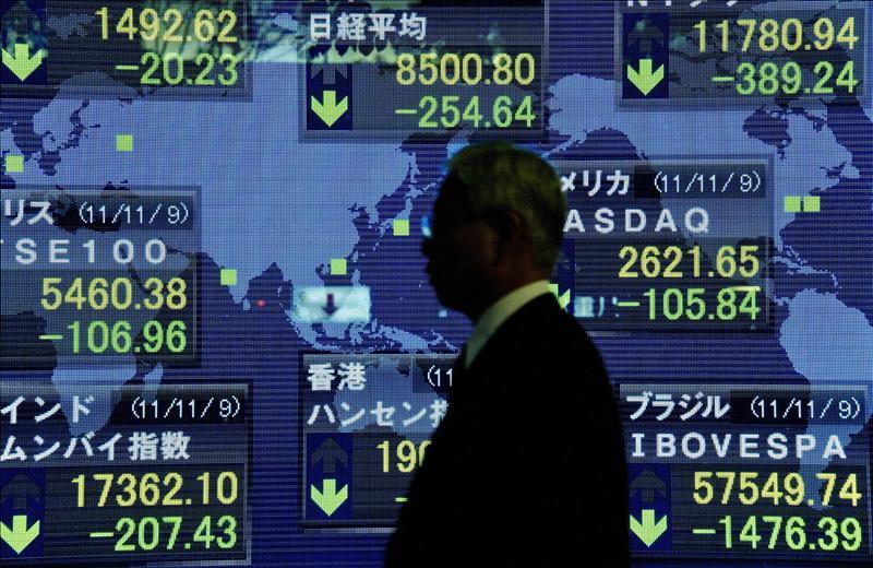 El Nikkei baja entre la renovada inquietud por Europa