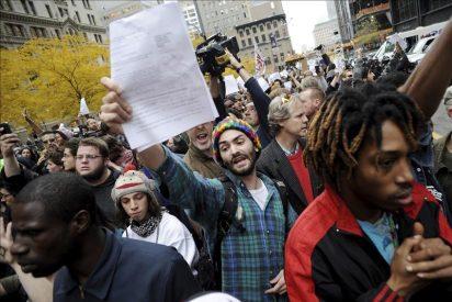"""Los """"indignados"""" sufren un revés judicial pero mantendrán su protesta en Nueva York"""