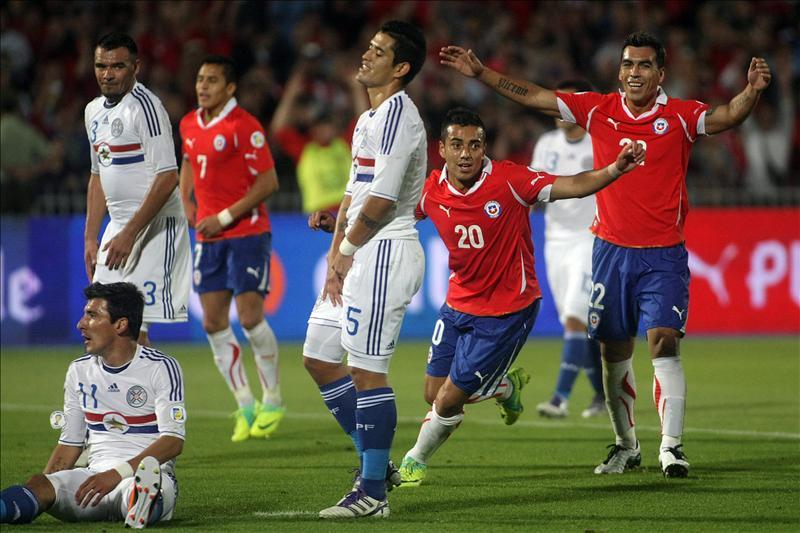 Argentina, Venezuela, Ecuador y Chile ganan y acechan a Uruguay