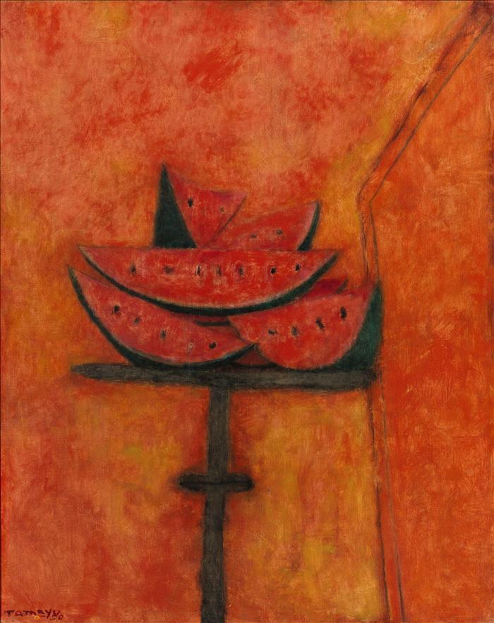 Un lienzo de Rufino Tamayo, vendido en 2,2 millones de dólares en Nueva York