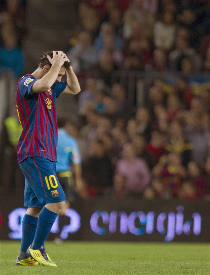 Trabajo de recuperación para Messi y Mascherano en el Barcelona