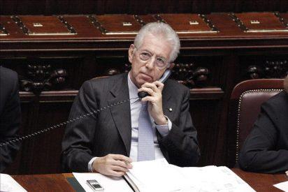 El Gobierno de Monti iniciará su andadura tras la confianza de la Camara Baja