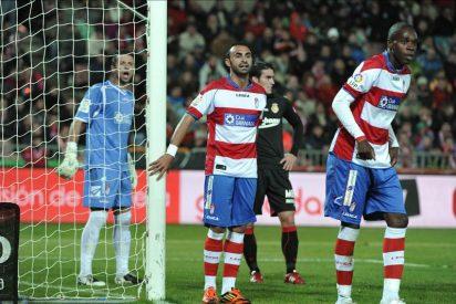 Suspendido el Granada-Mallorca en el minuto 60 con 2-1 por paraguazo a un árbitro asistente
