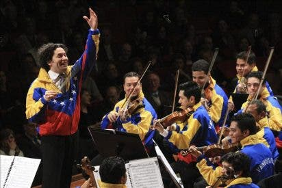 Dudamel y su Orquesta estremecieron a la Academia Santa Cecilia de Roma