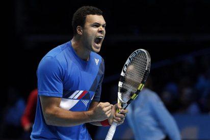 Tsonga vence a Berdych y se medirá a Federer en la final de Londres
