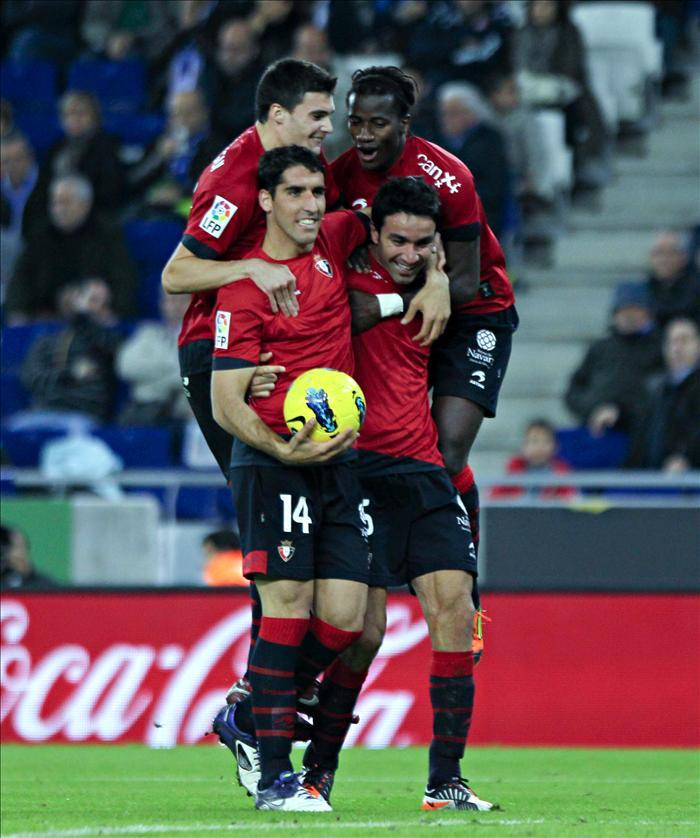 1-2. Osasuna le 'roba' el sueño europeo al Espanyol