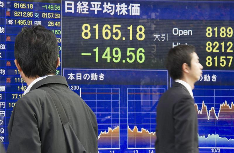 El Nikkei sube 69,20 puntos, el 0,83%, hasta 8.356,69 puntos