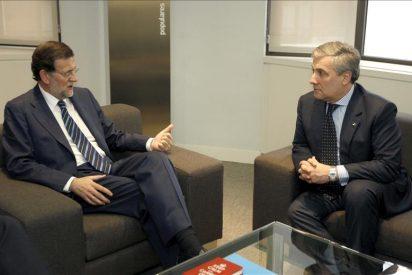 Primera reunión de Rajoy con un miembro del Gobierno de la UE
