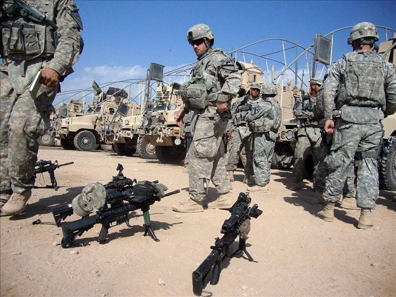 La retirada de las tropas estadounidenses de Irak sigue adelante según el vicepresidente Biden