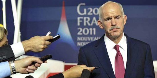 El Gobierno de Papandreu salva la moción de confianza
