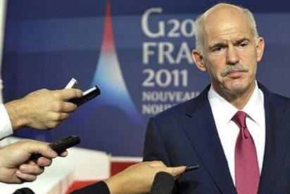 Papandreu se la envaina y ofrece retirar su referéndum