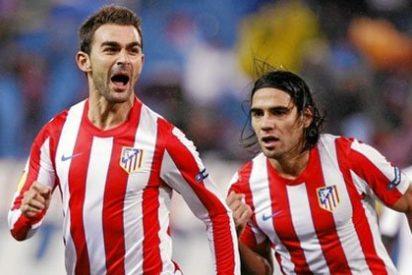 Adrián guía al Atlético en la Europa League frente al Udinese (4-0)