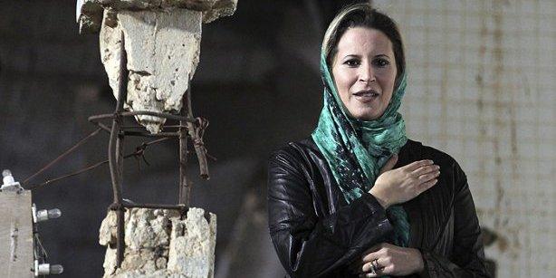 La hija de Gaddafi pide al pueblo libio que vengue la muerte de su padre