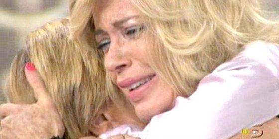 Momentazo en 'Sálvame Deluxe': Bárbara Rey confiesa, llorando, que se acostó con Chelo Gª Cortés