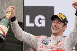 "Button (McLaren): ""Aquí es muy difícil adelantar"""