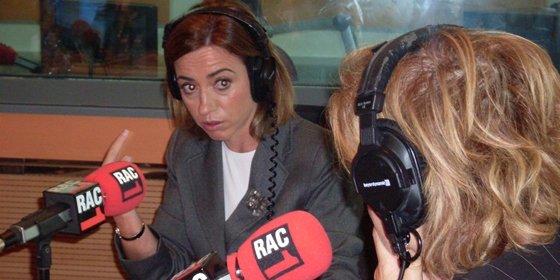 Rapapolvo a Chacón en 'la radio de CiU'