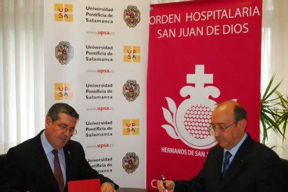 Convenio entre el centro Asistencial San Juan de Dios y la Pontificia de Salamanca