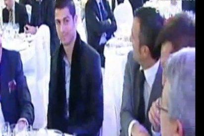 Cristiano Ronaldo y Enrique Cerezo se pican en la gala del diario 'AS'
