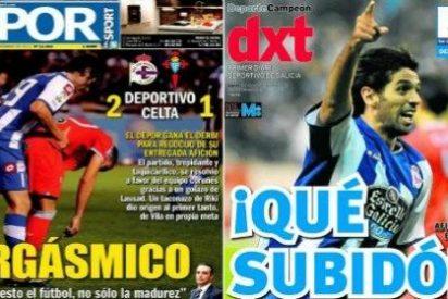 """El diario gallego 'Depor Sport' se excita con el derbi local: """"Orgásmico"""""""