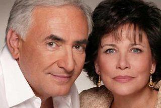 """Strauss-Kahn y su mujer se querellan contra la prensa """"linchamiento"""""""