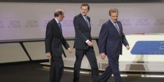 """Los periodistas deportivos también analizaron el debate: """"Rajoy y Rubalcaba necesitan un logopeda, no transmiten ilusión y son tristes"""""""