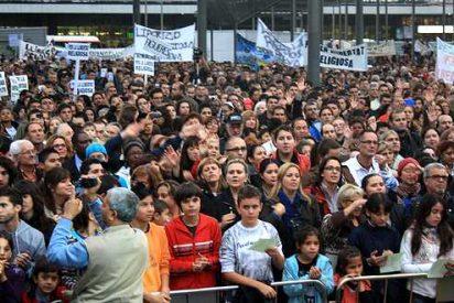 Concentración histórica por la libertad religiosa en Barcelona