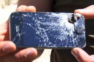 Un iPhone arde al rojo vivo en pleno vuelo