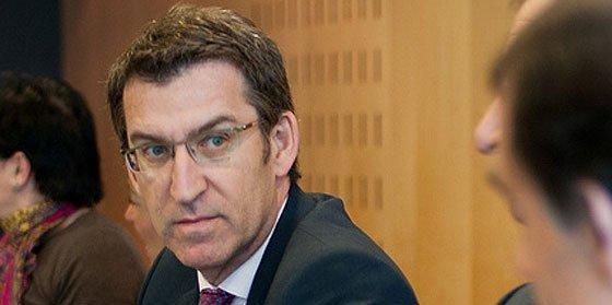 Feijóo reprocha a José Blanco que se presentara a las elecciones