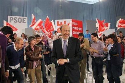 Rubalcaba da un mitín a los jóvenes de su partido en Talavera