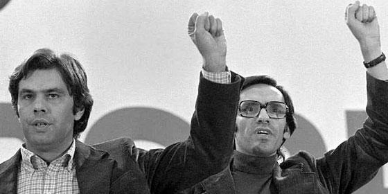 Vuelve el 'Trío de la Bencina': Rubalcaba reúne a González y Guerra