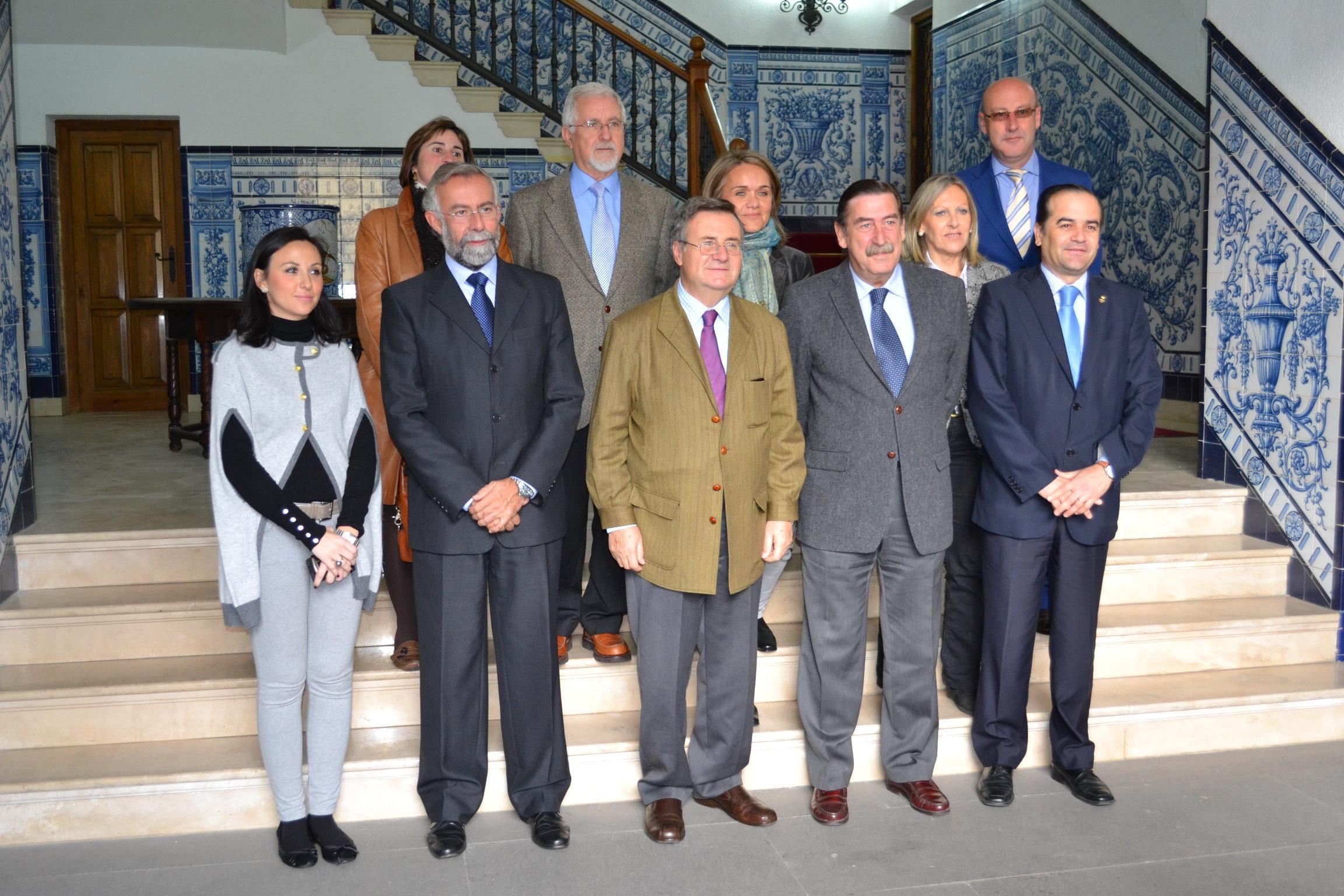 García-Tizón da su apoyo a la ciudad en sus tres grandes proyectos: AVE, área logística y eje ferroviario