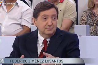 """Losantos a Jordi González ('La Noria'): """"Más llorarás en la cola del INEM"""""""