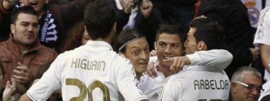 El Real Madrid y CR7 apabullan también en el aperitivo