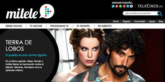 Mediaset España vuelca más de 700 horas de sus programas en Mitele.es
