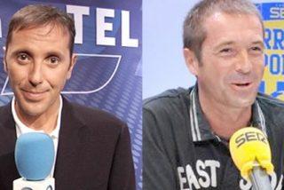 EGM: La sonrisa de Manu Carreño ('Carrusel Deportivo') contrasta con la decepción de la sección de deportes de COPE