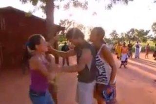 Surrealista vídeo de la bronca más brutal y violenta nunca vista en 'Pekín Express'