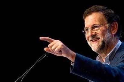 Mariano Rajoy 'pasa' de los que intentan reventar su mitin en Vigo