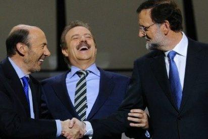 Inmolación en directo: Rubalcaba se trasviste de Zapatero