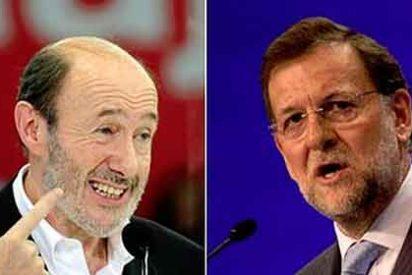 El cara a cara Rubalcaba-Rajoy costará 550.000 €