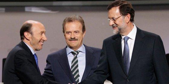 """Rajoy y Rubalcaba """"pecan por omisión"""" en el debate"""
