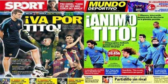 """José Mourinho: """"Espero ver recuperado a Tito Vilanova el día 10 en Madrid"""""""