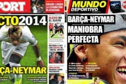 La prensa catalana vuelve a la carga con Neymar para 2014