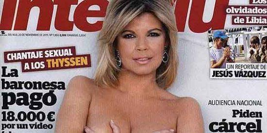 Te Acuerdas Cuando Terelu Campos Poso Desnuda Pero Con Medias En