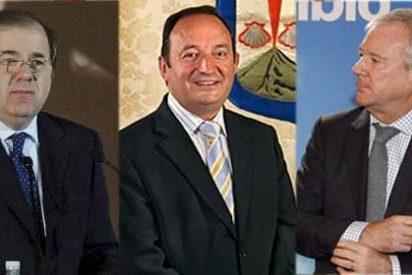 Ministrables: Valcárcel, Herrera y Sanz, tres presidentes autonómicos con puesto en Madrid
