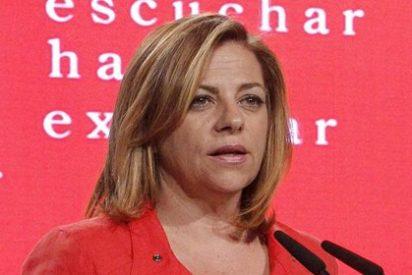 La Agencia Tributaria embarga a Elena Valenciano por morosa