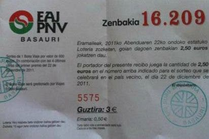 PNV y ERC venden la suerte de la Lotería Nacional 'olvidando' el nombre de España