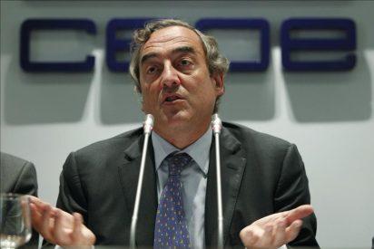 La CEOE quiere congelar los salarios durante cuatro años