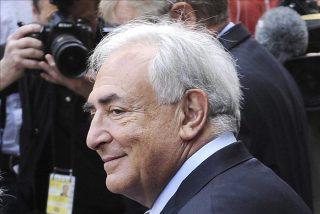 """Strauss-Kahn dice en Pekín que el euro está """"a punto de hundirse"""""""